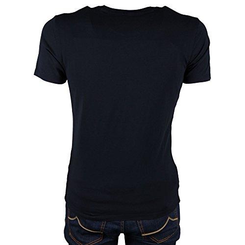 Logo Tee T Woolrich Nero Mod S shirt Cw4nAtzq