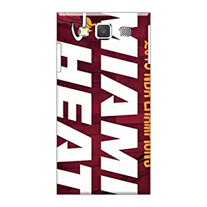 Scratch Resistant Cell-phone Hard Covers For Samsung Galaxy A3 With Provide Private Custom Beautiful Miami Heat Pictures LisaSwinburnson