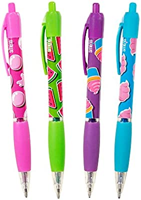 Scentco Glitter Gel Smens 4-Pack of Gourmet Scented Pens