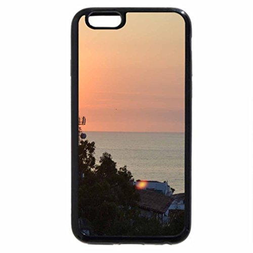 iPhone 6S Case, iPhone 6 Case (Black & White) - Banderas Bay at Puerto Vallarta