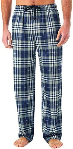 Men/'s CHECK COTTON LOUNGE Pants Pyjama Bottoms Trousers Nightwear