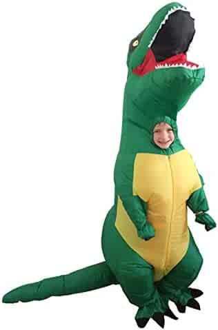 GoPrime T Rex Costume, Dino Theme Party Dress, Dinosaur Costume