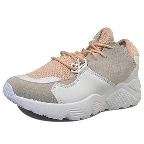 Da Borgogna Donna Pu Scarpe Tacco Sneakers Zhznvx Piatto Bianco Chiusa estate Punta Primavera poliuretano Comfort Burgundy rosa Tqwg5n5Z