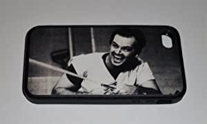iphone covers JACK NICHOLSON Cuckoo's Nest Iphone 6 plus BLACK RUBBER PROTECTIVE CELLPHONE CASE