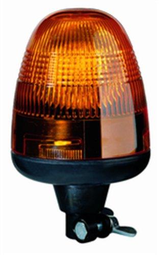 HELLA 006846001 KL Rotaflex Flex Mount Beacon Warning Light, Rotating Patterns, 12V, Amber