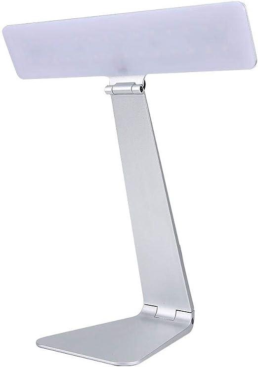 Lámpara de mesa LED, lámpara de luz de tatuaje de manicura de 3 ...