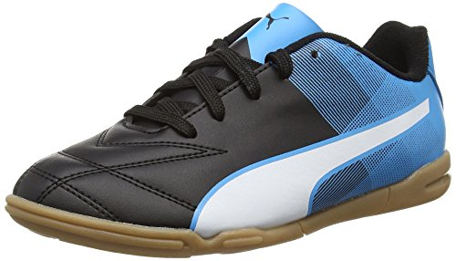 Puma Adreno Ii It Jr - Zapatillas Unisex niños Negro - Schwarz (black-white-atomic blue 03)