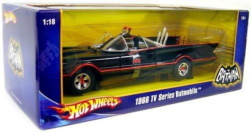 Mattel Hot Wheels 1:18 1966 TV Series Batmobile