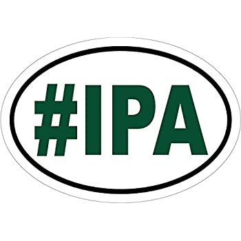 Beer decal ipa beer vinyl sticker beer bumper sticker beer sticker