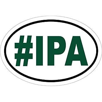Beer decal ipa beer vinyl sticker beer bumper sticker beer sticker