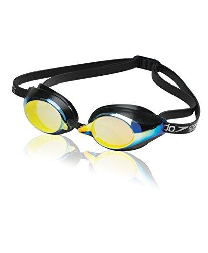 Speedo Speed Socket Swim Goggle, Deep Gold, One - Gold Goggles