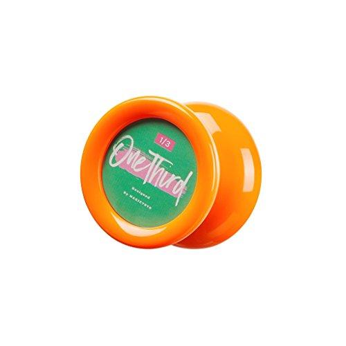 Baoblaze Magic YoYo D2 One Third Responsive Professional ABS Yo-yo Ball Toy with Durable String 1A 2A 3A 5A Tricks Sports Practice - Orange