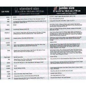 Max Reflector Premium Double Bubble Auto Car Sunshade Standard