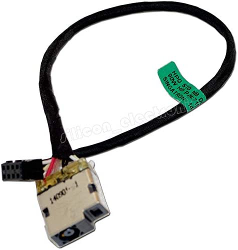 For Dc Power Jack Harness Plug In Cable For Hp 15-r011dx 15-r029wm 15-r063nr
