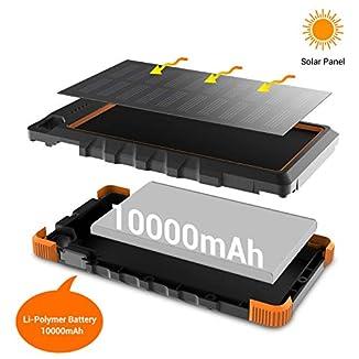 Cargador Solar 10000 mAh IP67 1