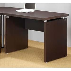 Coaster Home Furnishings 800892 Contemporary Desk, Cappuccino