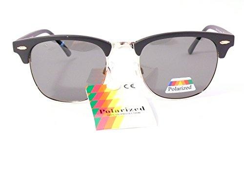 noir verres style 201231 lunettes soleil homme polarisantes de polarisées polarisés monture mat femme vert verres clubmaster 67BqHBc