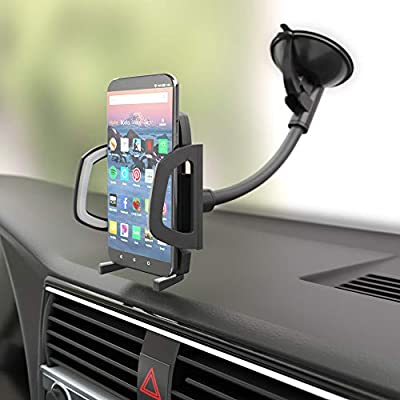 Basics Universal Smartphone Holder for Car Windshield