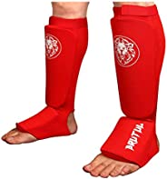 Brutul Protective Shin Instep Kickboxing Boxing MMA Muay Thai Karate Taekwondo Cloth Shin & Instep Padded