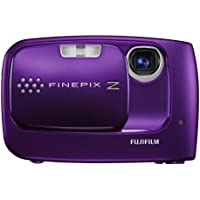 Fujifilm FinePix Z30 10MP Digital Camera with 3x Optical Zoom (Violet) At A Glance Review Image