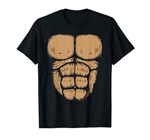 Halloween Gorilla Chest Costume Shirt | Funny Monkey Gift ()