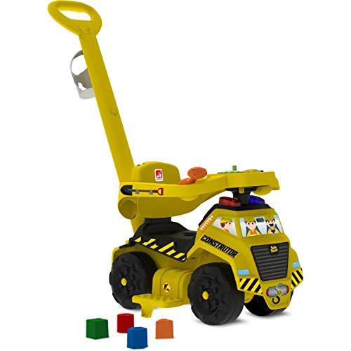 1ºs Passos Construtor (som E Luz) Passeio & Andador Bandeirante Amarelo