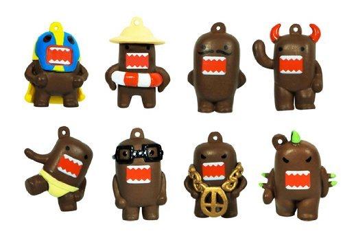 Domo Charm Figures - Set of 8