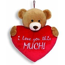 """Gund Valentine's Bear Hug 13"""" Plush"""