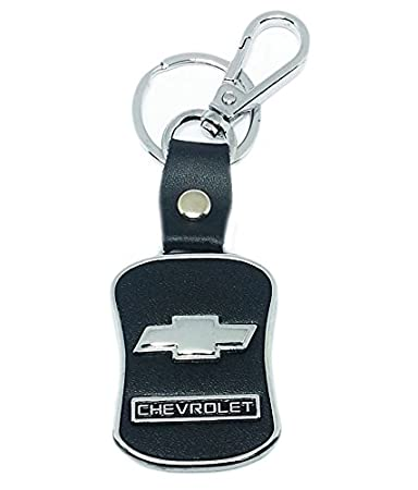 Chronowares Chevrolet leather imported key chain key ring with chrome car  logo for Beat Optra Spark Aveo Chevy Tavera Chevy  Amazon.in  Bags 707441432