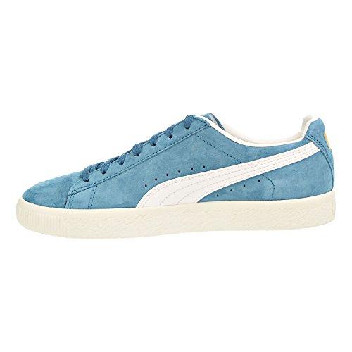 Puma Kvinna Korg Klassiska Metall Wns Mode Sneaker Blå