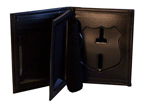 Hidden Badge Wallet for NY City Patrol Officer (Cutout PF145) ()