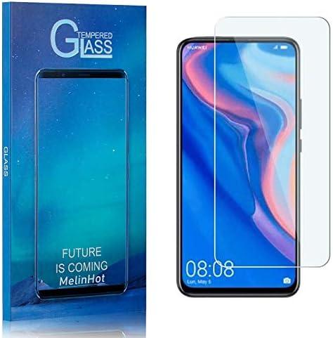 Displayschutzfolie für Huawei P Smart Z, MelinHot Ultra klar Schutzfilm aus Gehärtetem Glas, Anti Öl, Anti Kratzen, Hoch Transparenz, 1 Stück