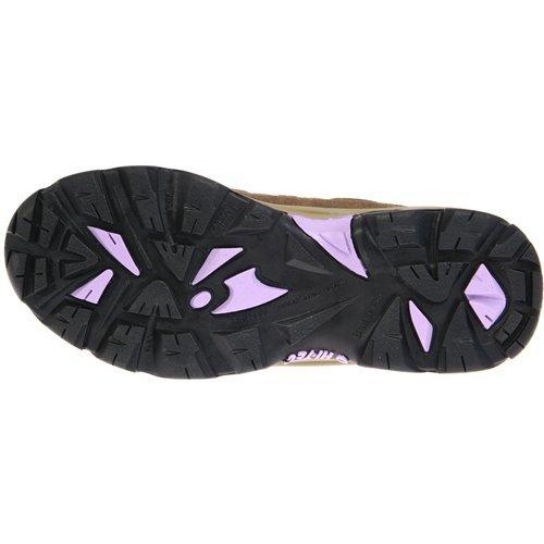 Hi-Tec Women's Bandera Mid-Rise Waterproof Hiking Boot Dk Taupe/Viola/Charcoal supply sale largest supplier NTQVoG3n