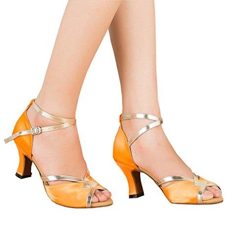 TDA - Zapatos de tacón  mujer naranja