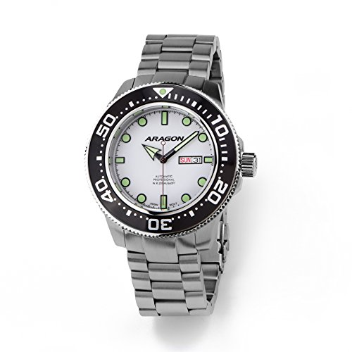Aragon-A064WHT-Divemaster-Automatic-45mm