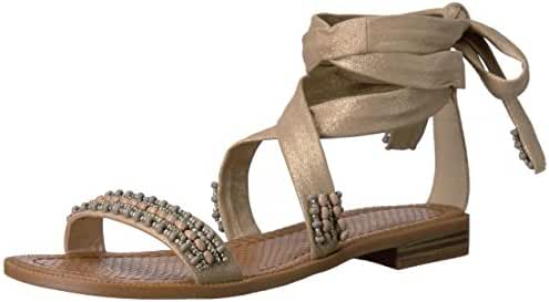 Nine West Women's Xoanna Metallic Dress Sandal