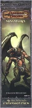 Written by Wizards Team: D&D Mniatures Archfiends Booster Pack: A ...