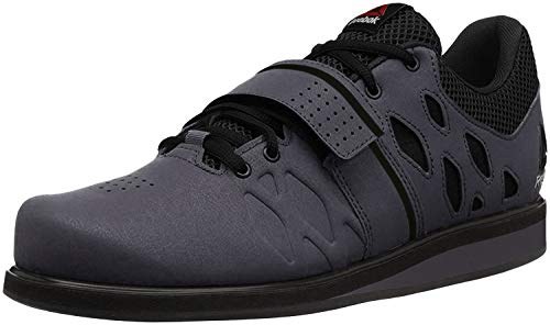 Reebok Men's Lifter Pr Cross-Trainer Shoe, Ash Grey/Black/White, 11.5 M US