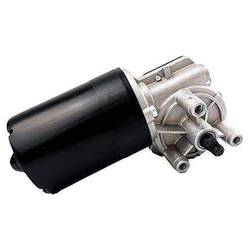 SHOWSEN New Front Windshield Wiper Motor Fit 98-10 Volkswagen Beetle 92-03 EuroVan 95-02 Cabrio 93-01 Golf Jetta 90-97 Passat 90-92 Corrado 92 Mercury Grand Marquis 90-91 Lincoln Town Car