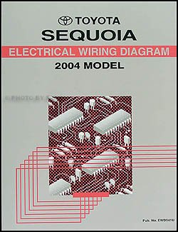 2004 toyota sequoia wiring diagram manual original toyota amazon rh amazon com 2003 toyota sequoia wiring diagram toyota sequoia stereo wiring diagram