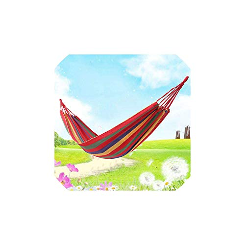 s Hammock Swing Outdoor Single Double People Dormitory Camping Hammocks 20080 200100 200150Cm Hanging Chair,A80 ()
