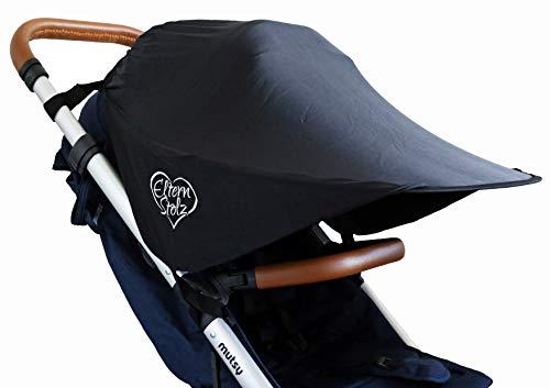 La sombrilla universal para cochecito con proteccion UV se ajusta a z.b. en babyzen yoyo mutsy nexo sombrilla parasol protector solar bebe