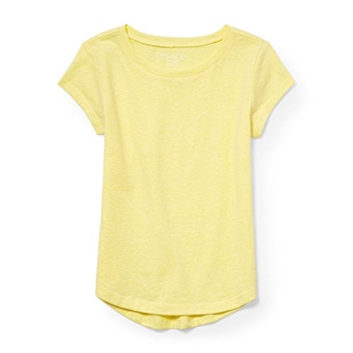 The Children's Place Big Girls' Short Sleeve Active Top, Arizona Sun 6793, L (10/12) (Arizona Places)