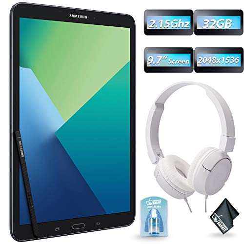 """Samsung 10.1"""" Galaxy Tab A T580 16GB Tablet  + JBL T450 - On"""