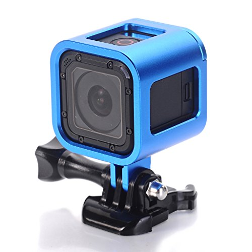 Aluminum Frame for GoPro Hero4 Session ,CNC Aluminum Alloy Solid Protective Case Skeleton with Screw and Wrench for Gopro Hero 4 Session