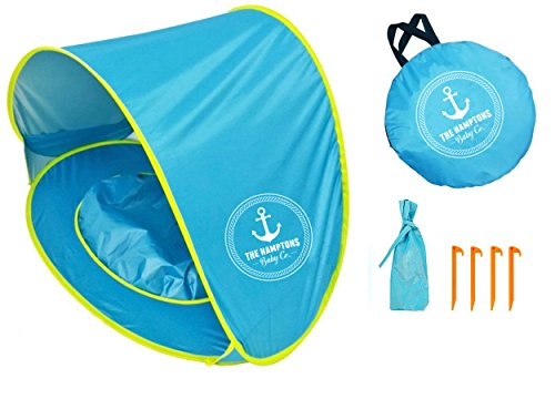 Price comparison product image Premium Baby Beach Tent & Pop Up Sun Shelter - Easy & Simple Portable Sun Shelter Provides Shade & Baby Shade Pool For Your Toddler, Infant & Kid - Our Infant Beach Tent Offers SPF, UV, & 50+ UPF