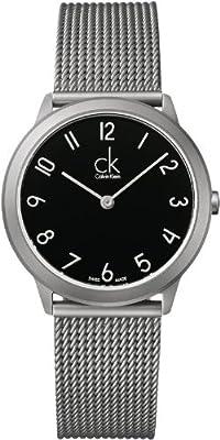 Calvin Klein ck Minimal Mesh Mens Watch K3M52151
