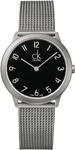 5524fba6187 Calvin Klein ck Minimal Mesh Mens Watch K3M52151