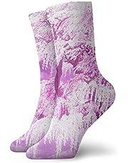 New year new Casual Socks Anime Cherry Blossom Graphics Fashion Unisex Ankle Socks Athletic Stockings 30cm Long Sock