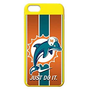 Lmf DIY phone caseGear Popular NFL Miami Dolphins Nike Just Do it Skin iphone 5/5s Cover CaseLmf DIY phone case
